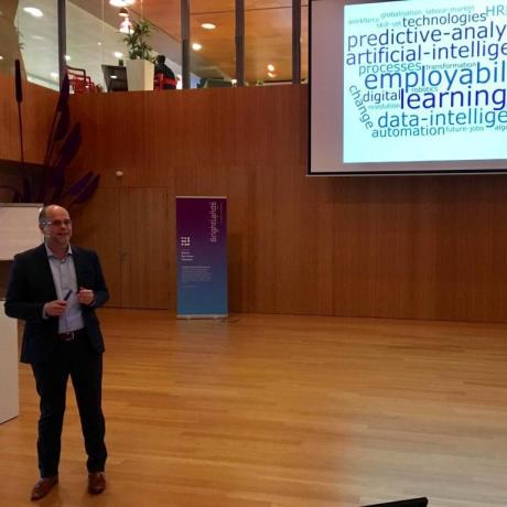 Keynote speech at the Brightlands HR Tech Day: Employability in the digital age