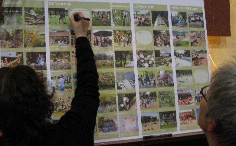 Bewoners van Heilust denken mee - foto Buro Lubbers 2012