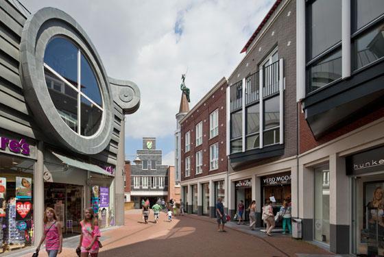 Spijkenisse winkelcentrum - Sjoerd Soeters